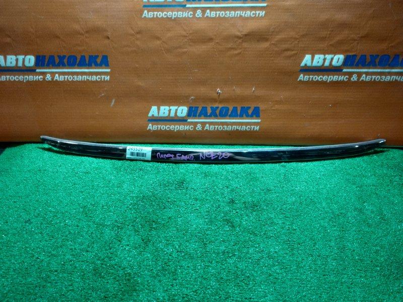 Накладка на бампер Toyota Raum NCZ20 1NZ-FE 2003 передняя нижняя 1 мод хтс