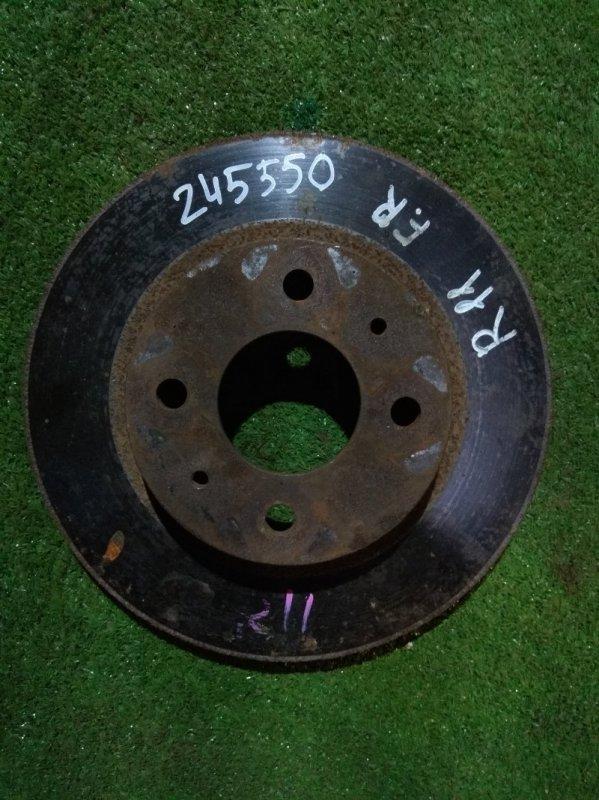 Диск тормозной Nissan Presea R11 GA15DE передний ---------- Ф242, T18, 4 ШПИЛЬКИ, PRESEA R11,