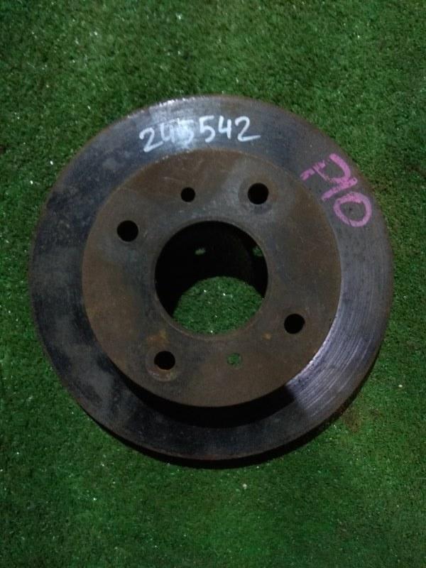 Диск тормозной Nissan Serena C23 GA15DE передний Ф241, T20, 4*114.3, PRIMERA P10,