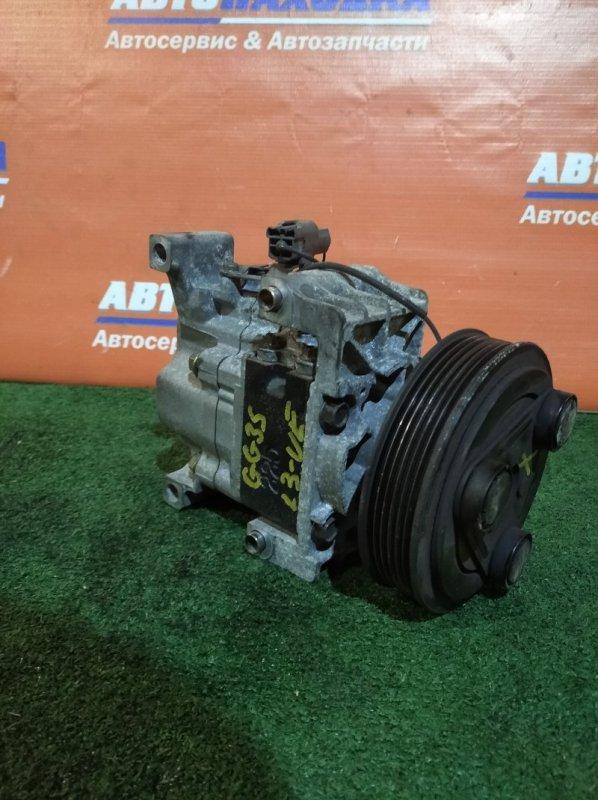 Компрессор кондиционера Mazda Atenza GG3S L3 2003 H12A1AF4DW 75т.км