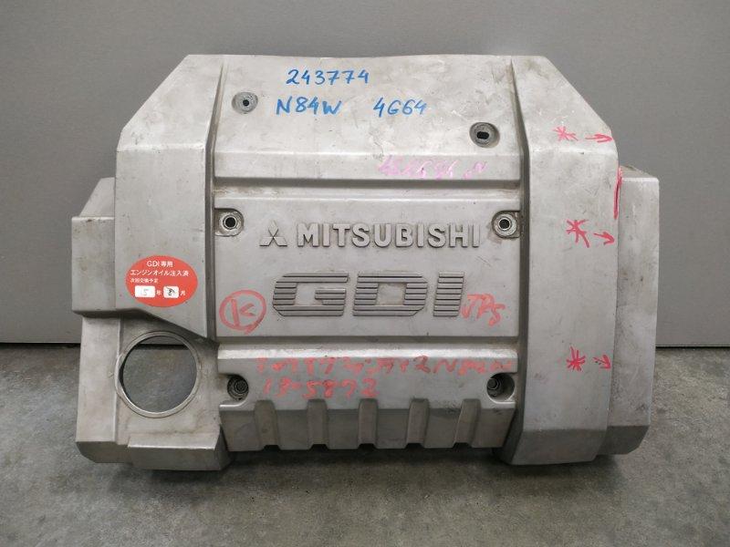 Крышка двигателя Mitsubishi Chariot Grandis N84W 4G64 MD356380 декоративная крышка , пластик , ***