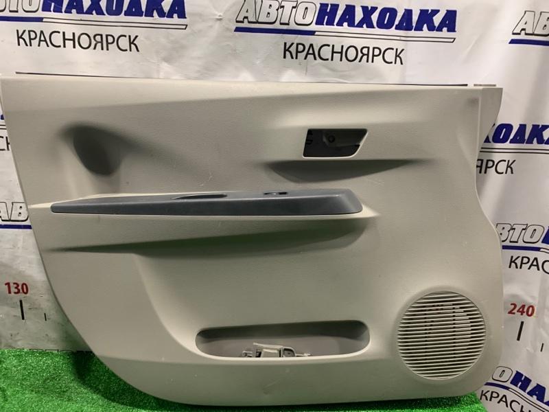 Обшивка двери Daihatsu Mira E:s LA300S KF 2011 передняя левая FL, с кнопкой стеклоподъемника, есть