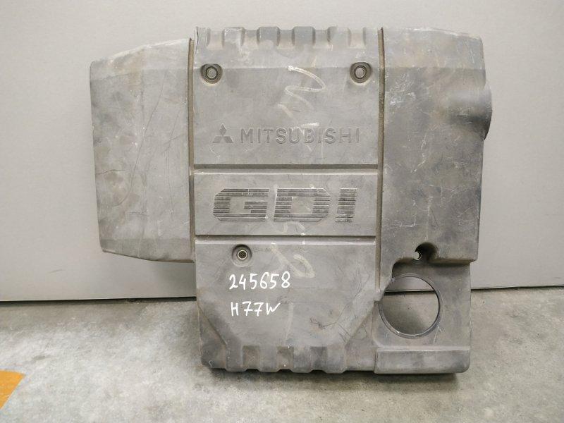 Крышка двигателя Mitsubishi Pajero Io H77W 4G94 MR560597, MR560807 декоративная крышка , пластик
