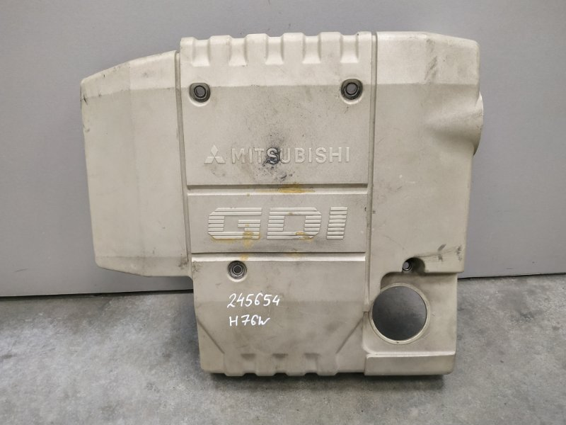 Крышка двигателя Mitsubishi Pajero Io H76W 4G93 MD361049 декоративная крышка , пластик
