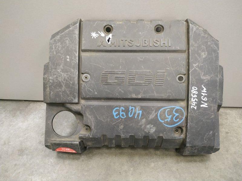 Крышка двигателя Mitsubishi Rvr N61W 4G93 MR560125, MR560189 декоративная крышка , пластик , *** ДЕФЕКТ ,