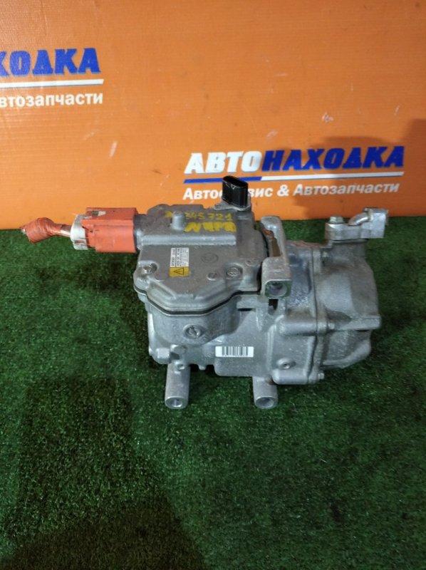 Компрессор кондиционера Toyota Aqua NHP10 1NZ-FXE 2011 042200-1041 32т.км