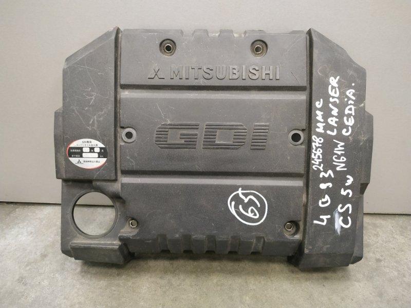 Крышка двигателя Mitsubishi Rvr N61W 4G93 MR560125, MR560189 декоративная крышка , пластик