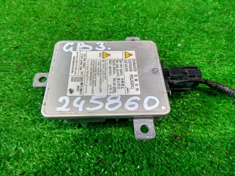 Блок розжига ксенона Honda Freed GB3 L15A 2008 W3T19071 W3T19071 На три уха, под лампу D2R / D2S