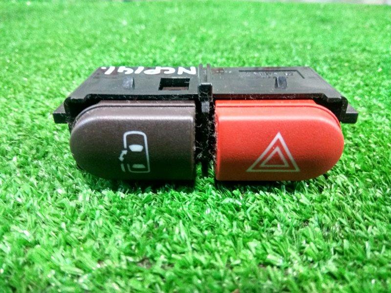 Кнопки в салон Toyota Spade NCP141 1NZ-FE 2012 аварийной сигнализации и сдвижной двери