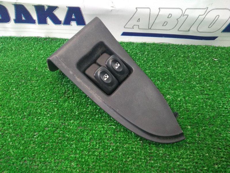 Блок управления стеклоподъемниками Renault Kangoo KC K4M 2003 передний правый на 2 двери, левый =