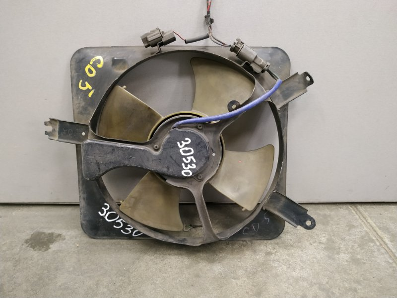 Вентилятор радиатора Honda Accord CD4 F20B 1993 0 железн кондиционера