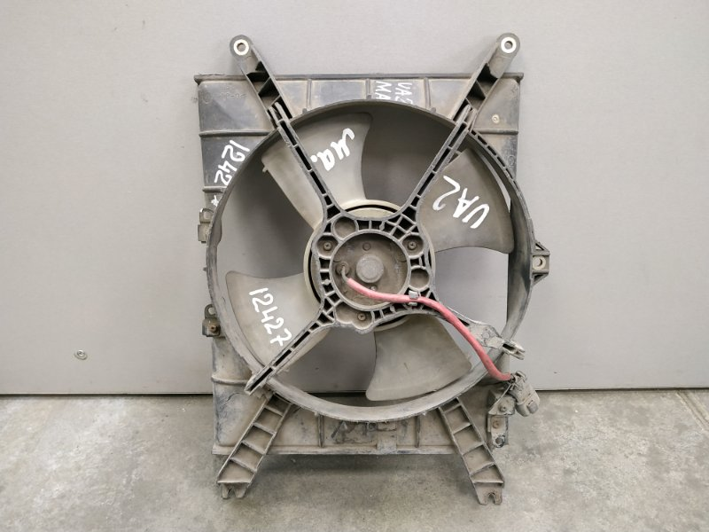 Вентилятор радиатора Honda Inspire UA2 G25A 1995 левый 0 Вентилятор с диффузором, маленький