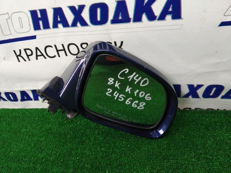 Зеркало Chevrolet Captiva C140 A24XE 2011 переднее правое ХТС, правое, с повторителем, 8 контактов,