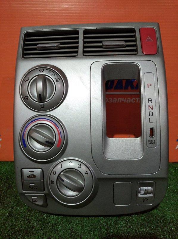 Климат-контроль Honda Mobilio GB1 L15A 2001 электро/механический +блок упр. коректора фар+