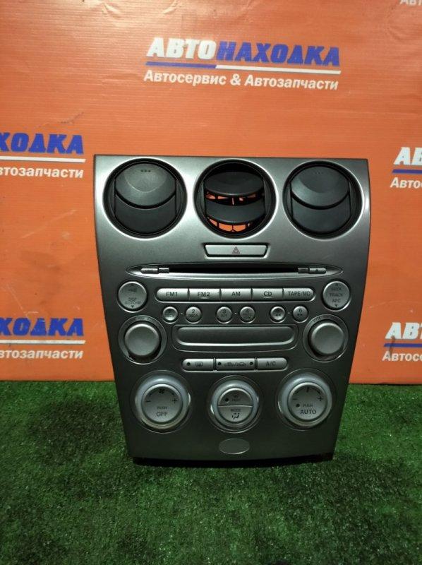 Климат-контроль Mazda Atenza GG3S L3 2003 +магнитола