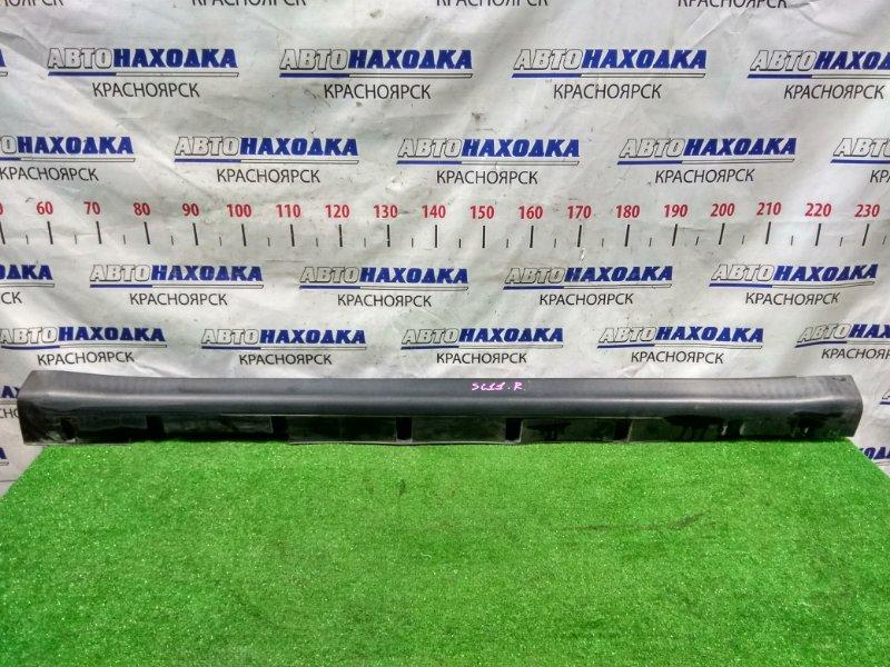 Порог Nissan Tiida Latio SC11 HR15DE 2008 правый пластиковый, правый