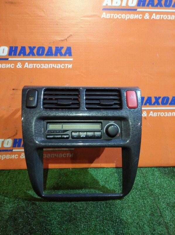 Климат-контроль Honda Hr-V GH3 D16A 1999 +рамка+дефлекторы