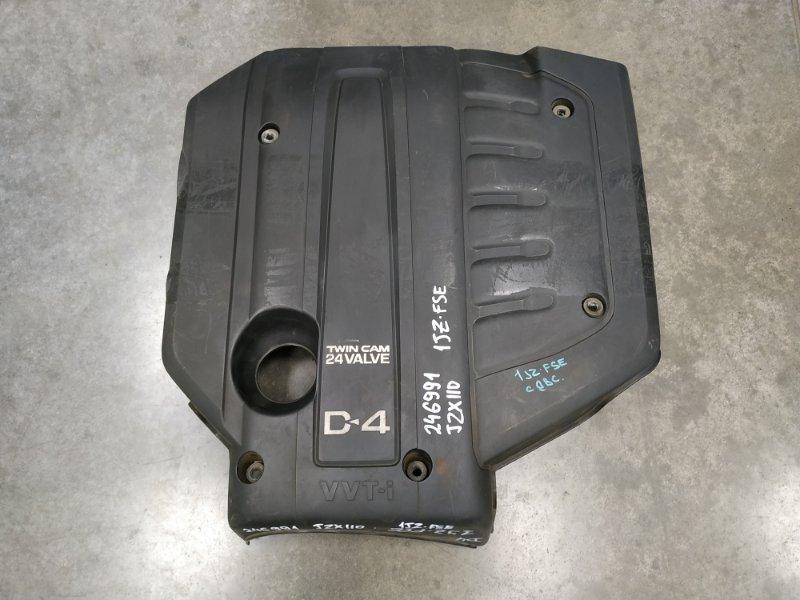 Крышка двигателя Toyota Mark Ii JZX110 1JZ-FSE 12601-46050 декоративная крышка , пластик