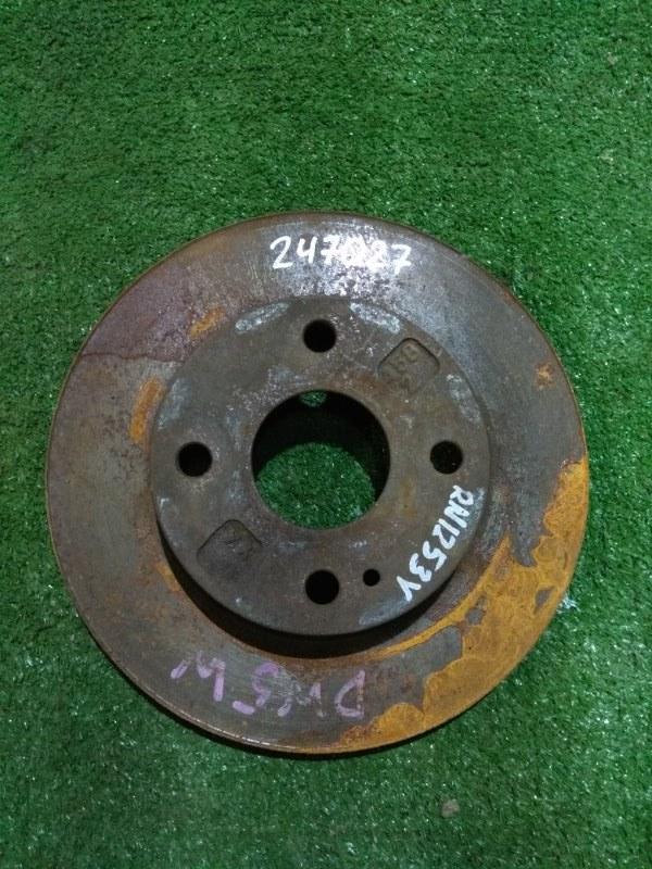 Диск тормозной Mazda Demio DW3W B3 передний Ф235, T16(износ 2мм), 4 ШПИЛЬКИ, DEMIO DW5W,