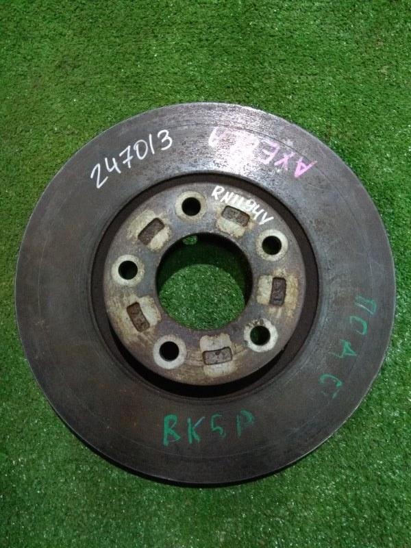 Диск тормозной Mazda Axela BK3P L3-VE передний Ф300, T25, 5 ШПИЛЕК, AXELA BK3P,