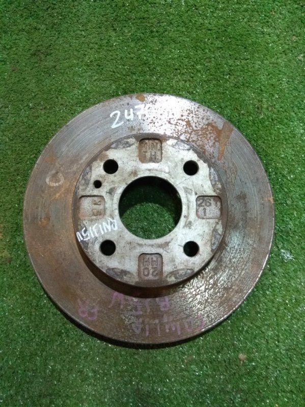 Диск тормозной Mazda Demio DW3W B3 передний Ф235, T22, 4 ШПИЛЬКИ, FAMILIA BJ5W,