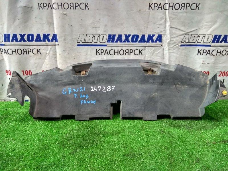 Защита двс Toyota Mark X GRX121 3GR-FSE 2004 передняя нижняя под рамкой радиатора, не значительный