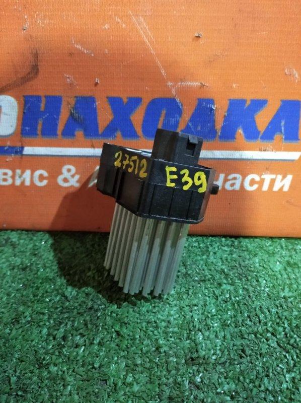 Реостат печки Bmw 530I E39 M54B30 2000