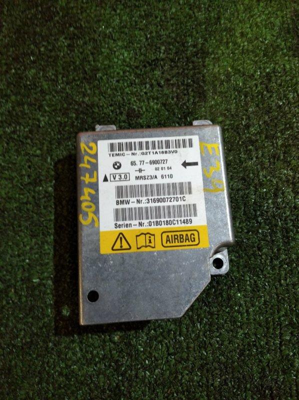 Блок управления Bmw 530I E39 M54B30 2000 БЛОК SRS