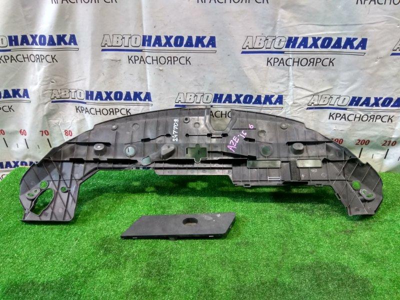 Накладка на телевизор Toyota Spade NCP141 1NZ-FE 2012 53140-12030 на верх рамки радиатора, в сборе