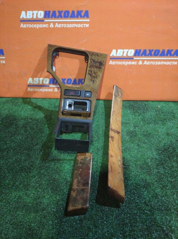 Консоль кпп Bmw 530I E39 M54B30 2000 левый руль/пепельница+кнопка аварийки+замка дверей+бок