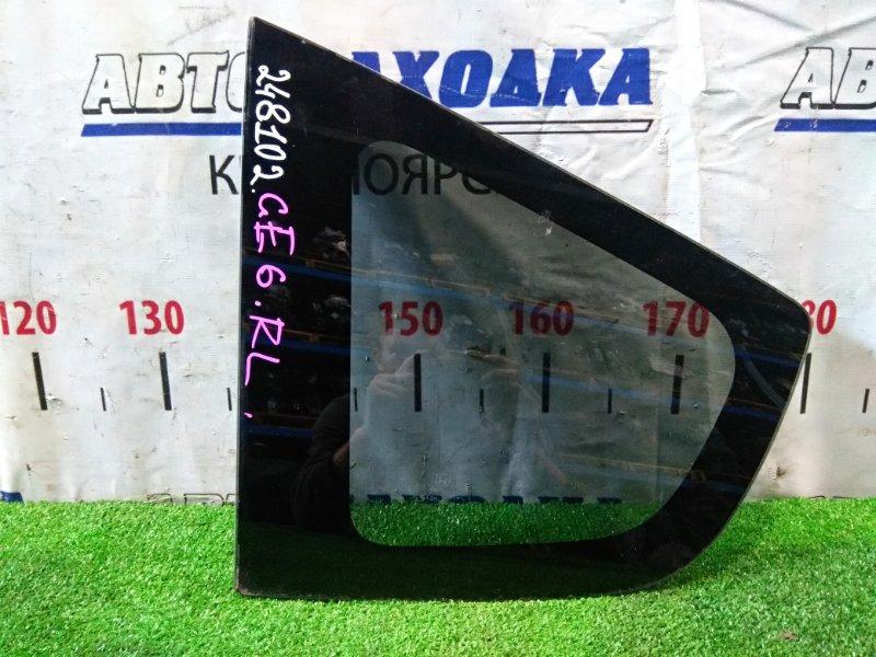 Стекло собачника Honda Fit GE6 L13A 2010 заднее левое RL, заводская тонировка