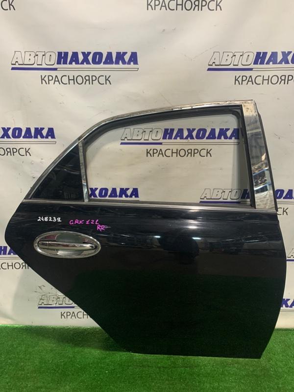 Дверь Toyota Mark X GRX121 3GR-FSE 2004 задняя правая RR в сборе, почти в ХТС