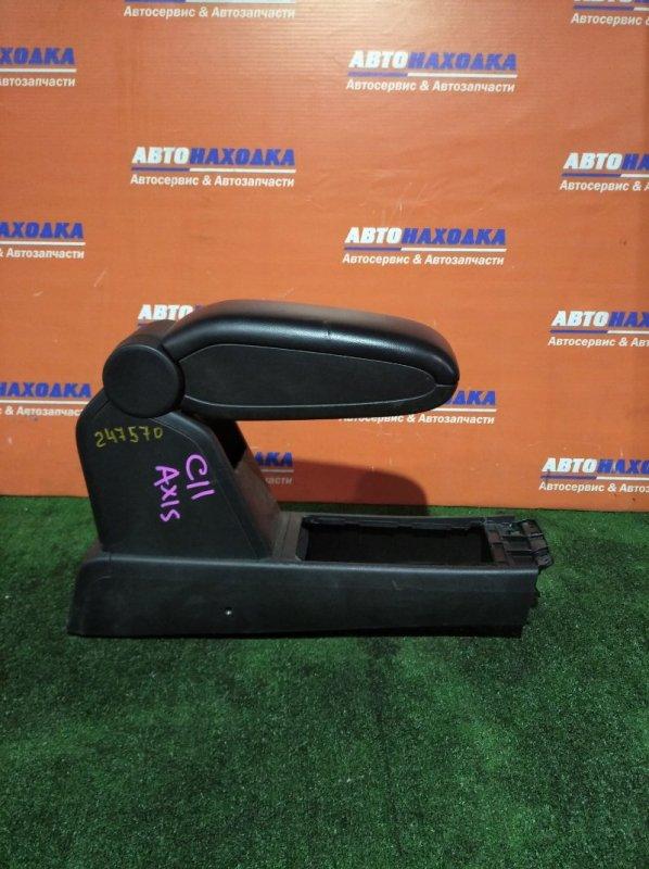 Подлокотник Nissan Tiida C11 HR15DE 2004 подлокотник+пепельница/AXIS