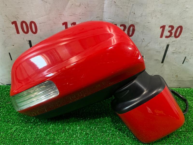 Зеркало Toyota Passo Sette M502E 3SZ-VE 2008 переднее правое правое, 7 контактов, с поворотником (52-158),