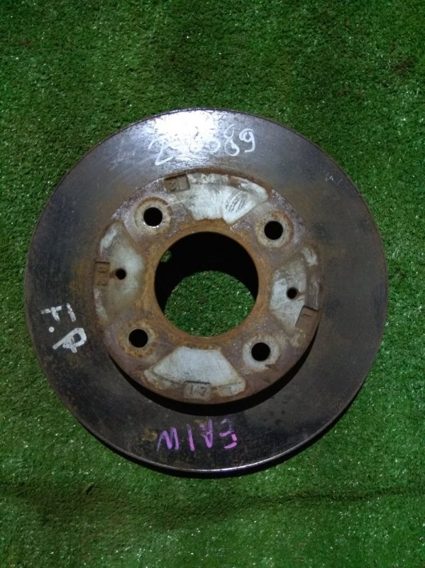 Диск тормозной Mitsubishi Galant EA1W 4G93 передний Ф255, T24, 4 ШПИЛЬКИ, GALANT EA1W,
