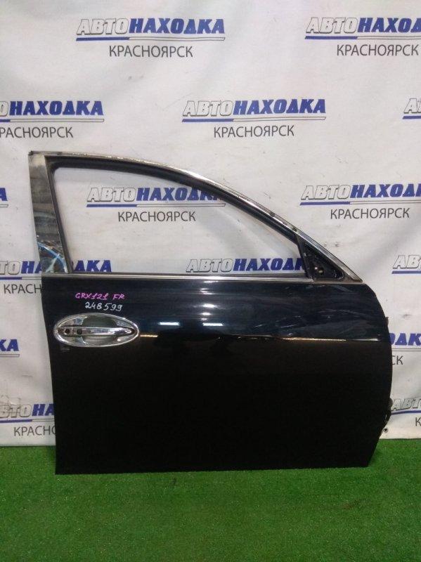 Дверь Toyota Mark X GRX121 3GR-FSE 2004 передняя правая FR в сборе. Есть мелкие коцки, блок не работал