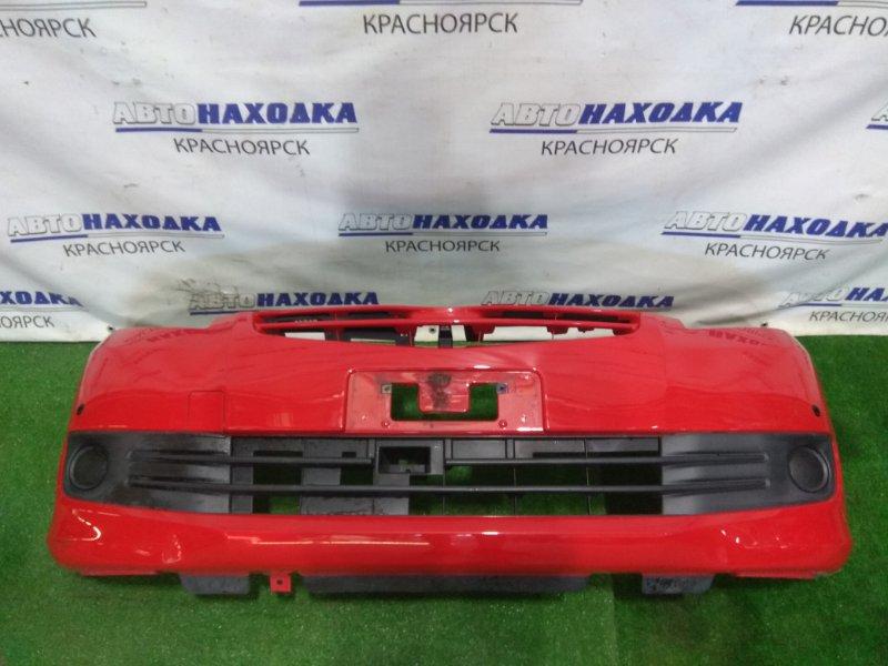 Бампер Toyota Passo Sette M502E 3SZ-VE 2008 передний Передний, с заглушками, сонарами, цвет 3P0,