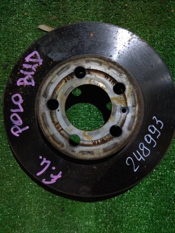 Диск тормозной Volkswagen Polo 9N3 BUD передний Ф255, T21.7, 5*100,
