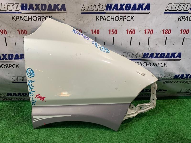 Крыло Toyota Granvia KCH10W переднее правое 1мод.95-99гг/.б.ночь/серое