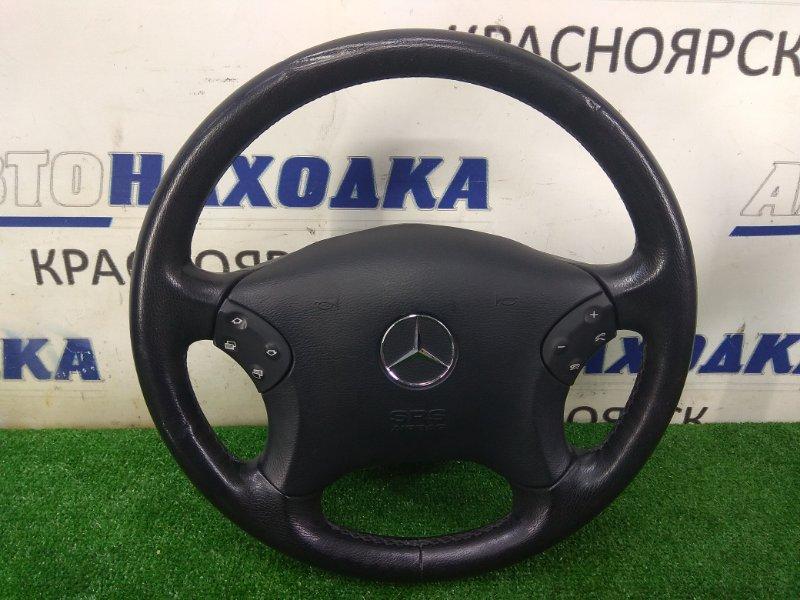 Airbag Mercedes-Benz C200 203.042 M271E18 2000 передний правый водительский, с рулем, без заряда, кожа,