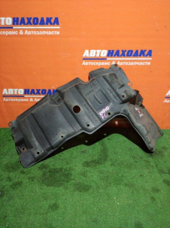 Защита двс Toyota Aqua NHP10 1NZ-FXE 2011 передняя левая