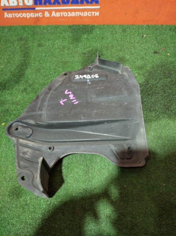 Защита двс Nissan Expert VW11 QG18DE 1999 передняя левая бок