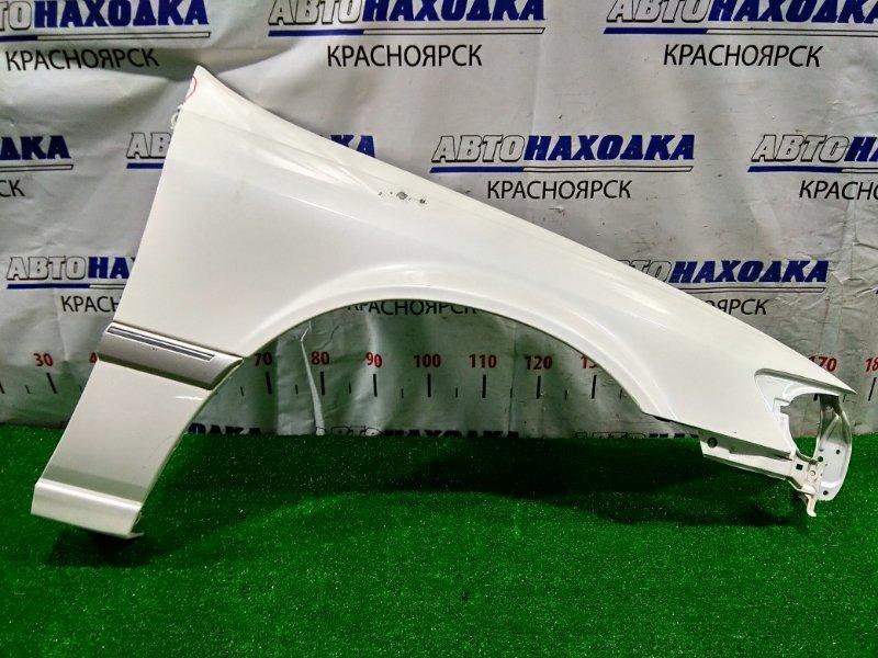 Крыло Toyota Mark Ii Qualis MCV21W 2MZ-FE 1997 переднее правое Правое, перламутровое, с молдингом, под
