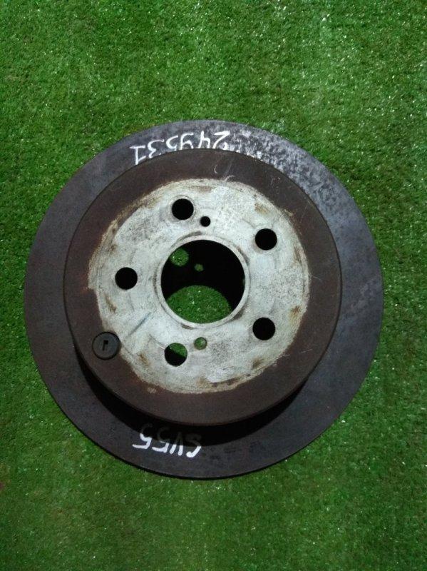 Диск тормозной Toyota Caldina AZT241 1AZ-FSE задний Ф269, T9, CD55, H56, 5*100, НЕ ВЕНТ, VISTA SV55,