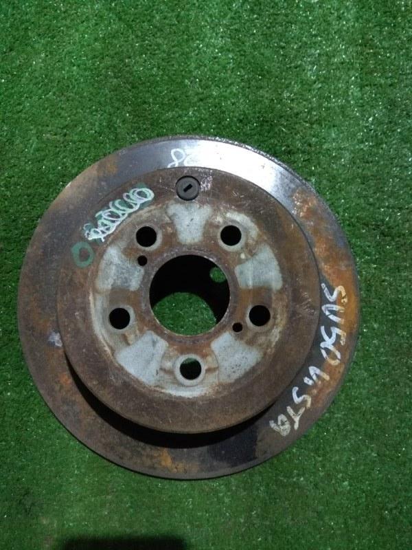 Диск тормозной Toyota Caldina AZT241 1AZ-FSE задний Ф269, T9, CD55, H56, 5*100, НЕ ВЕНТ, VISTA SV50,