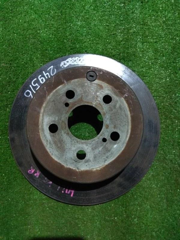 Диск тормозной Toyota Caldina AZT241 1AZ-FSE задний Ф269, T9, CD55, H56, 5 ШПИЛЕК,