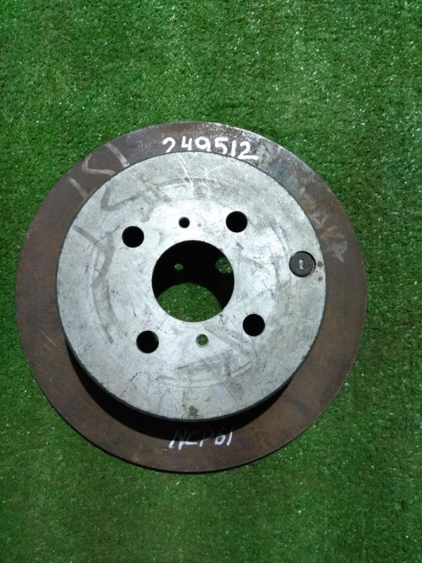 Диск тормозной Toyota Vitz NCP10 1NZ-FE задний Ф268, T9, CD55, H57, 4*100, IST NCP61,