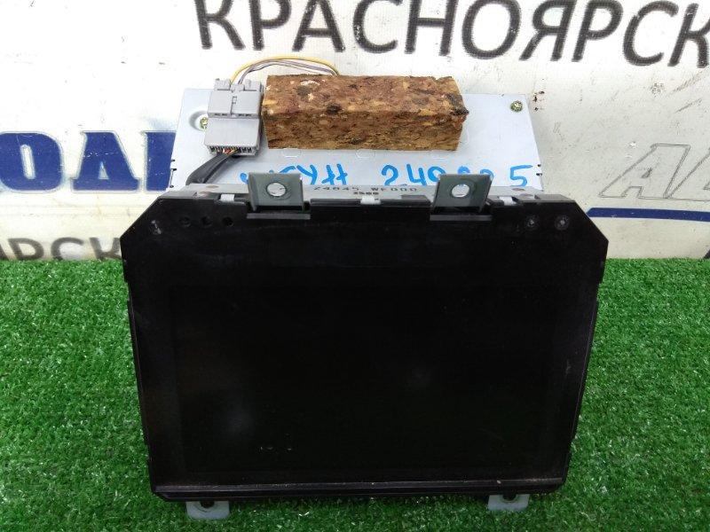 Телевизор в салон Nissan Wingroad WFY11 QG15DE 1999 штатный монитор с центральной консоли, с