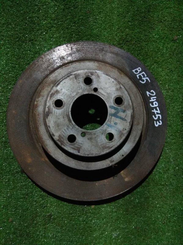 Диск тормозной Subaru Impreza GDA EJ205 задний Ф289, T17.5, CD58, H67.4, 5*100, ВЕНТ, BE5,