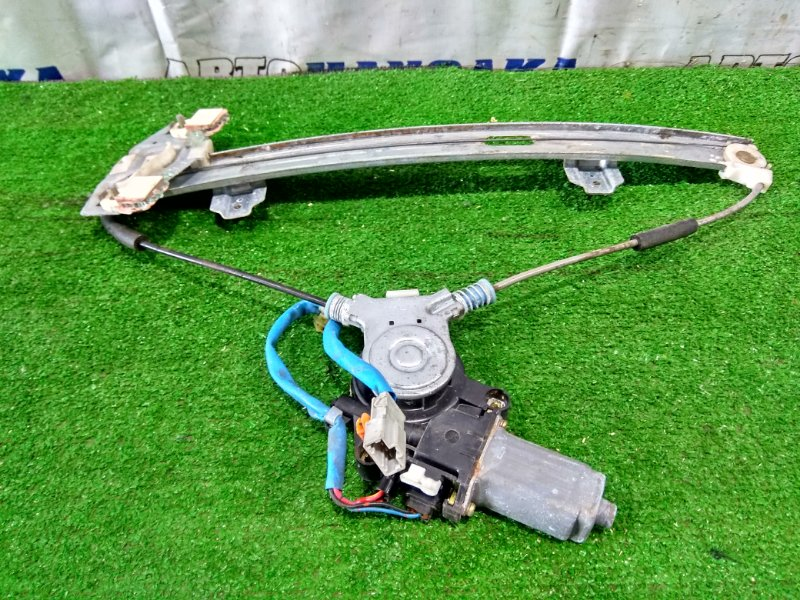 Стеклоподъемник Honda Orthia EL2 B20B 1996 передний правый FR, 4 контакта